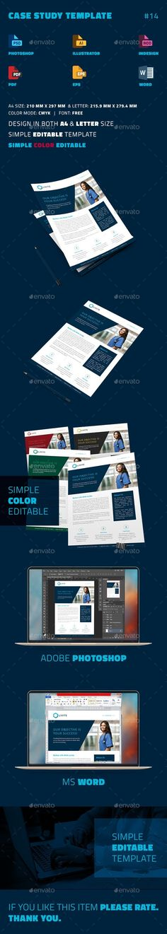 Case Study PowerPoint Template Preview