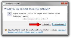 wdm video capture driver windows 7