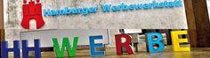 Hamburger Werbewerkstatt / Onlineshop für 3D Buchstaben.
