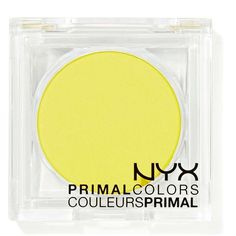 NYX Primal Colors Face & Body Color ($2.12) ❤ liked on Polyvore featuring beauty products, makeup, fillers, beauty, eyeshadow, eyes, hot yellow, nyx makeup, yellow makeup und nyx cosmetics
