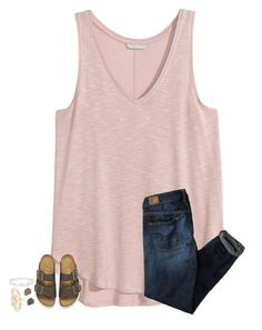 """""""school sucks"""" by secfashion13 ❤ liked on Polyvore featuring American Eagle Outfitters, Birkenstock, Kendra Scott, BaubleBar and Cartier"""