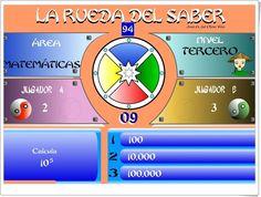 """La rueda del saber. Nivel III"" (Juego multidisciplinar de 6º  de Primaria) Maths, Educational Games, Teaching Resources, Wheels, Did You Know, Learning, Projects"