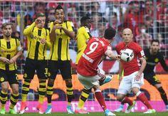 Highlight บาเยิร์น 4-1 ดอร์ทมุนด์ ไฮไลท์ฟุตบอลบุนเดสลีกาเยอรมัน Bayern 4-1 Dortmund
