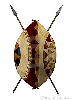 African Shield Royalty Free Stock Image - Image: 23105696