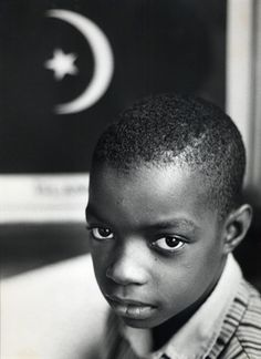Young Black Muslim, 1963 photo by Gordon Parks