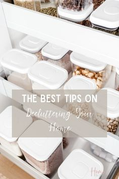 Need help decluttering your home? I've got some great decluttering tips to help you declutter your house. I've included a declutter your house checklist that gives you tips on decluttering.