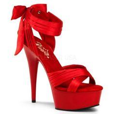 Womens 6 Inch Stiletto Heel Criss Cross Pleated Satin Strap Sandal,