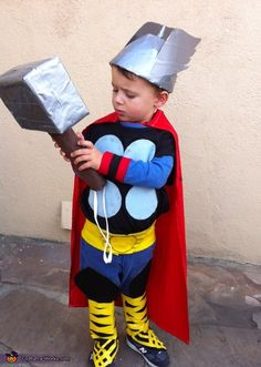 Mighty Thor - Let the Storm Clouds Gather - Halloween Costume Contest via @costumeworks