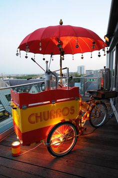 Churro Tricycle - Food Entertainment | www.contrabandevents.com