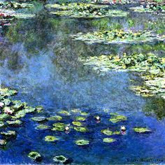 Claude Monet - Water Lilies (1906 - 1907), Private collection
