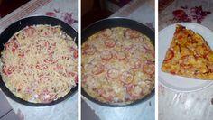 serpenyos-pizza-es-meg-a-sutot-sem-kell-bekapcsolni-serpenyos-pizza-es-meg-a-sutot-sem-kell-bekapcsolni-hozza Pizza, Cheeseburger Chowder, Macaroni And Cheese, Homemade, Ethnic Recipes, Food, Mac And Cheese, Home Made, Essen