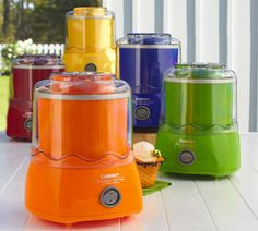 Cuisinart Classic Ice Cream Machine: Now in new color flavors.