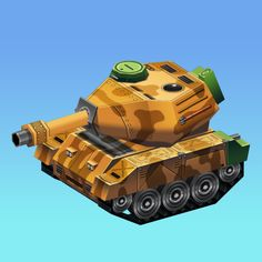 Buy Low Poly Tank by lubby on This tank is a low poly model meant for any game projects that need to run on mobile devices or browsers. Tank Drawing, Poly Tanks, Computer Generated Imagery, Low Poly Models, Used Computers, Digital Illustration, Illustrations Posters, 3d Printing, Game Ideas
