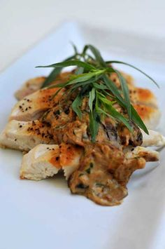 "Chicken with Mushroom ""Cream"" Sauce (Egg-Free, Gluten-Free, Nut-Free, Soy-Free)"