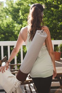 DIY: yoga bag