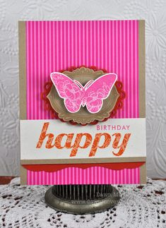 Anniversary set card by Dawn McVey for Papertrey Ink (February 2012).