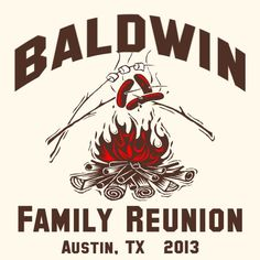Let's sit around the camp fire and toast some marshmallows and hot dogs.  http://www.reuniontees.com/reunion_tees/Natural-100_Cotton_T-Shirt/SKU-2000/106713-1121304/FRC_Camp_Fire #campfire #reunion #t-shirts