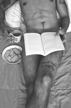 Reading and coffee in the morning hours.. for research...I swear.:) ..Did G.