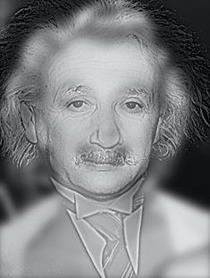 Check out this photo of Abert Einstein.. Now step away from your screen.. about 15-20 feet away.. Who do you see now???.. Click here for the explanation.. Trippy geniousness..