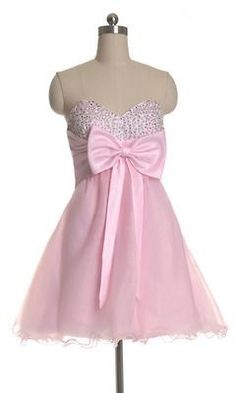 Light pink with bow