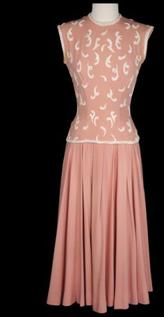 Edith Head Gowns | Edith Head dress for Grace Kelly in, 'To Catch A Thief'. | Edith Head