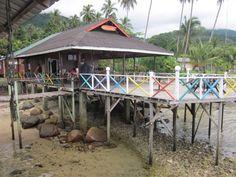 Tiong man island, Malaysia.