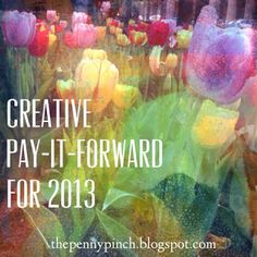 Check out this great way to spread the joy  and pay-it-forward with the people in your life...what a fun idea!
