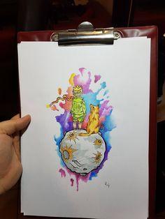 #watercolor #rafalskitattoo #littleprince #tattoo #drawing #colortattoo #tattoos