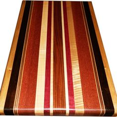 Custom Made Cutting Board Exotic Wood