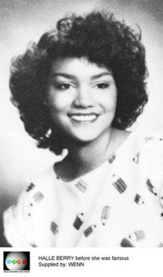 Celebrity School Photos:  Halle Berry