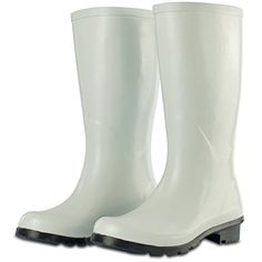 My Design Woman Waterproof Wellies Wellington Rain Rubber Tall Boots Kit SZ 85 -- For more information, visit image link.