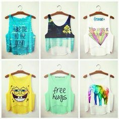 Tops teen fashion
