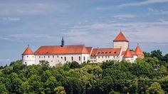 Schloss in Wörth an der Donau.
