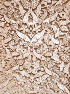 ornamental plasterwork from the Alhambra