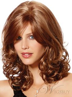 nice brown fashion wig for women