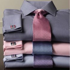 Charles Tyrwhitt make 'em want to wear a tie! Shirt Tie Combo, Dress Shirt And Tie, Suit And Tie, Sharp Dressed Man, Well Dressed Men, Mens Fashion Suits, Mens Suits, Men's Fashion, Fashion Trends