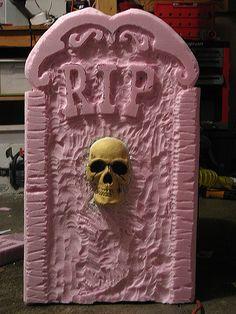 Halloween Tombstone Prop #2