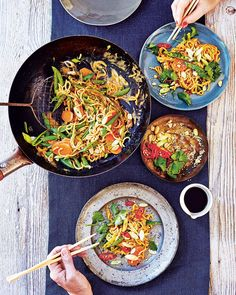 If you love peanut butter then Katy Beskow's noodle recipe is the meal for you. Fresh, light, spicy and full of crunch –this quick and easy dish is ready to eat in just a quarter of an hour.