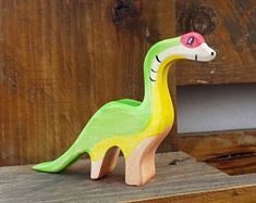Wooden Dinosaur, Toy Set, Waldorf wood dinos, pretend play, play set, wooden toys, wooden Animals, Toys for Kids, dino toy, wooden dino