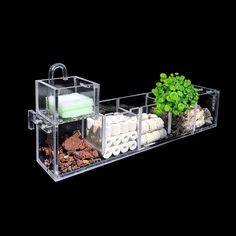 Aquarium External Filter Box Fish Tank Filter Box without Water Pump Water ~   eBay