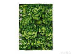 DIN A5 - Filofax Websters Pages A5 Tasche Einlage Grün - ein Designerstück von rainbowcaraways bei DaWanda