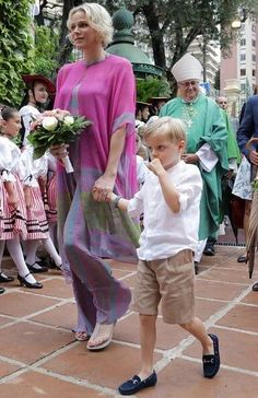 Prince Albert II of Monaco, Princess Charlene of Monaco, Prince Jacques and Princess Gabriella attend the traditional Monaco Picnic on September 2019 in Monaco. Andrea Casiraghi, Charlotte Casiraghi, Princess Diana Family, Princess Alexandra, Princess Stephanie, Prince And Princess, Grace Kelly, Beatrice Borromeo, Prince Albert