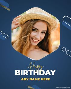 Birthday Wishes With Photo, Birthday Photos, Photo Cards, Social Media, Happy, Anniversary Pictures, Ser Feliz, Social Networks, Social Media Tips