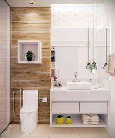 Bathroom decor for your master bathroom renovation. Discover bathroom organization, bathroom decor ideas, bathroom tile tips, bathroom paint colors, and more. Bad Inspiration, Bathroom Inspiration, Bathroom Ideas, Bathroom Organization, Bathroom Storage, Bathroom Cleaning, Restroom Ideas, Restroom Design, Bathroom Goals