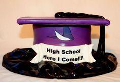 8th grade graduation cake.