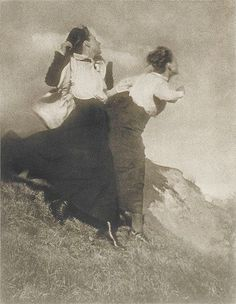"""Wanderer"", 1915, photo: Heinrich Kühn (1866-1944)"
