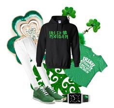 Happy St. Patrick's Day! by diane-fritz-sager on Polyvore featuring Dolce&Gabbana, Salvatore Ferragamo, Napier and Casetify