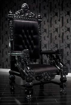 Be the king or queen or your house in this magnificent throne chair. Reminiscent of the thrones royalty used to sit in during the Baroque period and hand-carved out of the highest quality imported wood, this large chair exudes grandeur and sophistication.