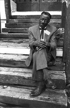 White folks hear the blues come out, but they don't know how it got there. Son House