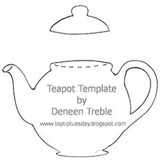 Teapot Card & Tutorial